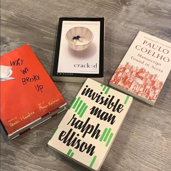 Book Bundles: Invisible Man, Why We Broke Up